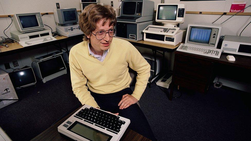 Bill Gates en 1983