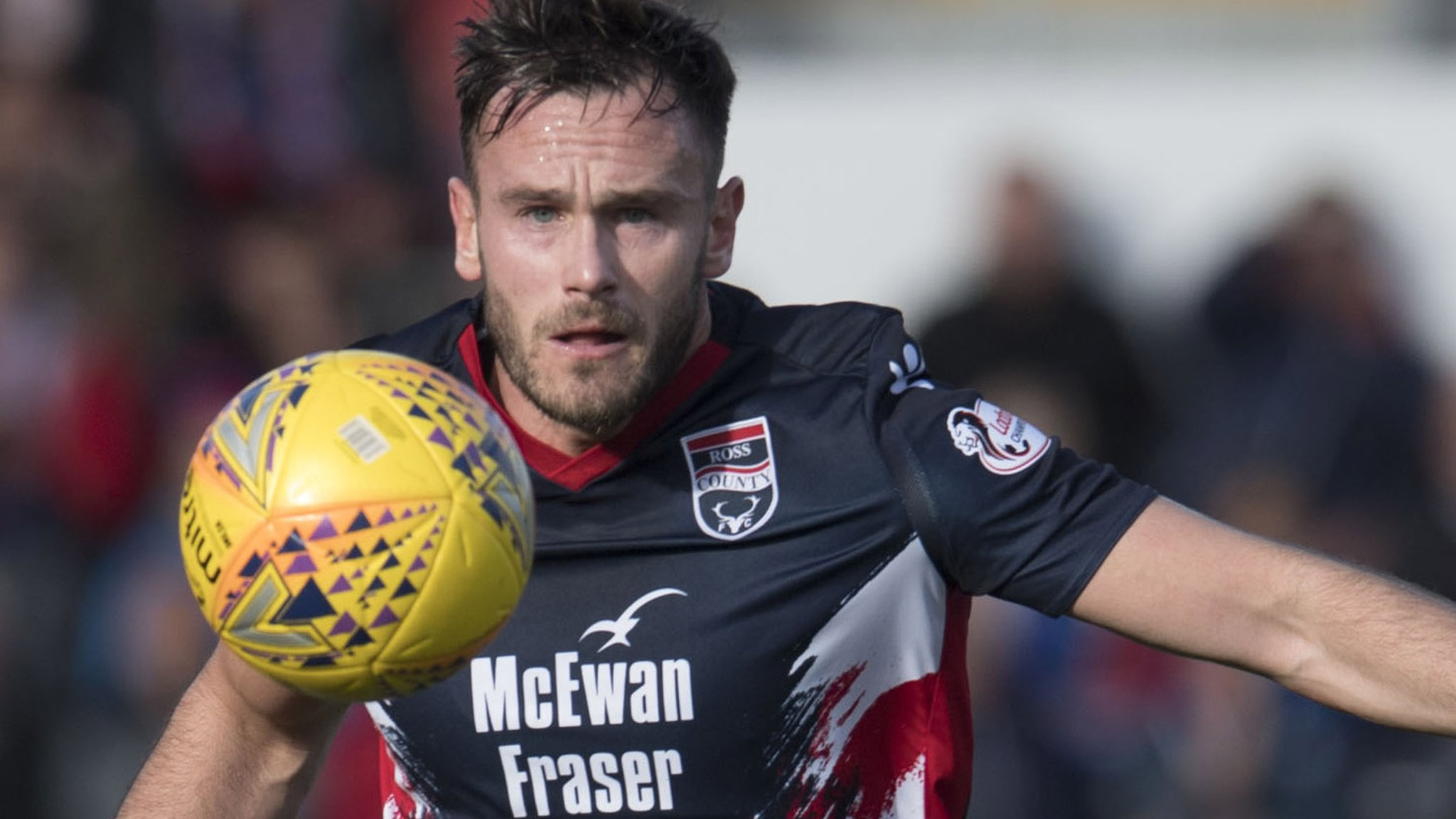 Alloa Athletic 0-1 Ross County: Keith Watson strikes late