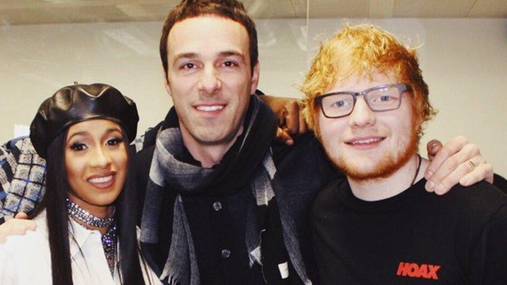 BBC News - Ed Sheeran's label boss Ben Cook steps down over 'offensive' Run DMC costume
