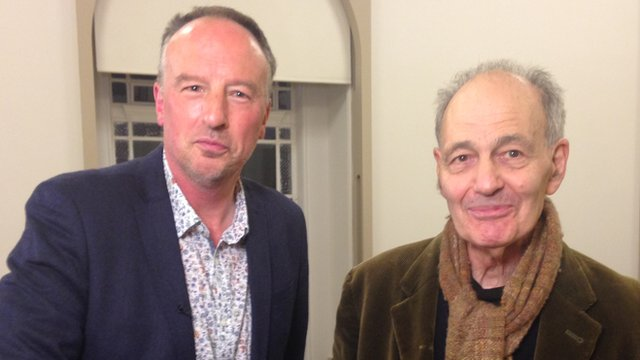 Stephen Smith (l) and Frank Auerbach (r)