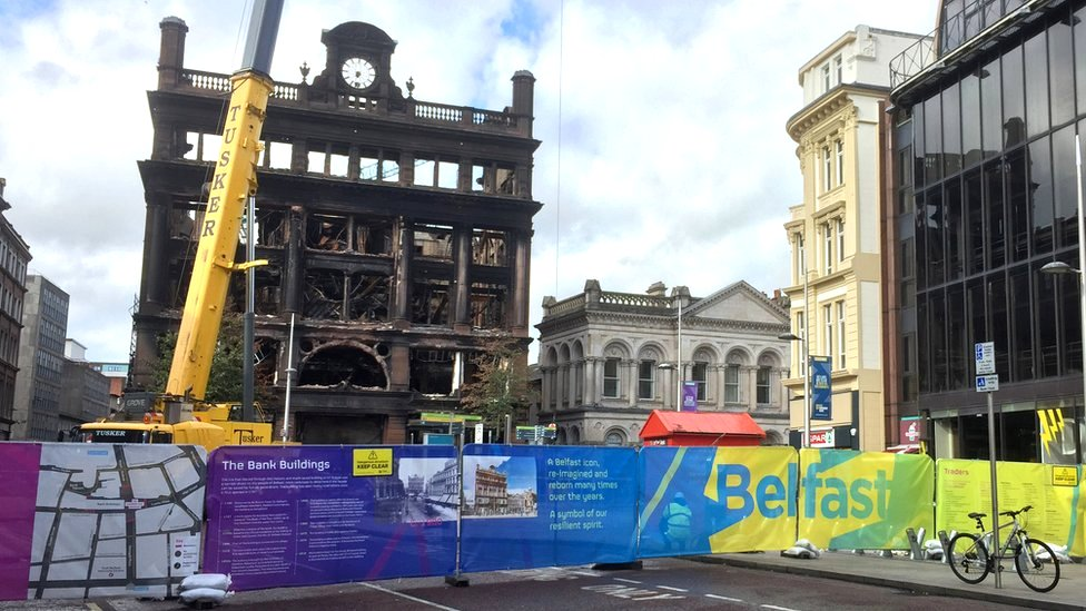 Primark fire: Donation to Belfast fund 'drop in ocean'