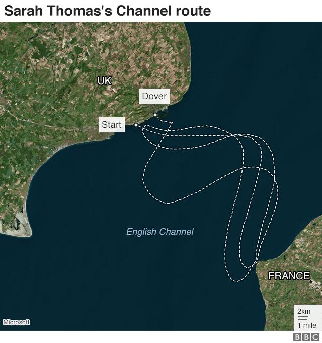 Sarah Thomas's route