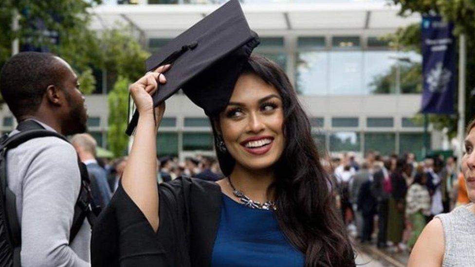 fotografija sa instagrama nakon diplomiranja