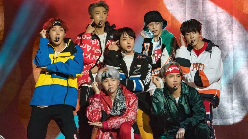 BTS: K-pop band's management apologises for Nazi-inspired hat