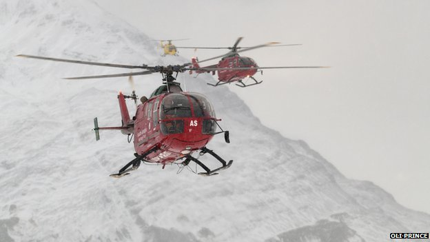 South Georgia helicopters