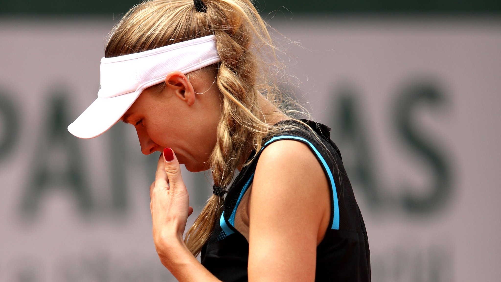 'I ran out of steam' - Wozniacki after shock first-round loss in Paris