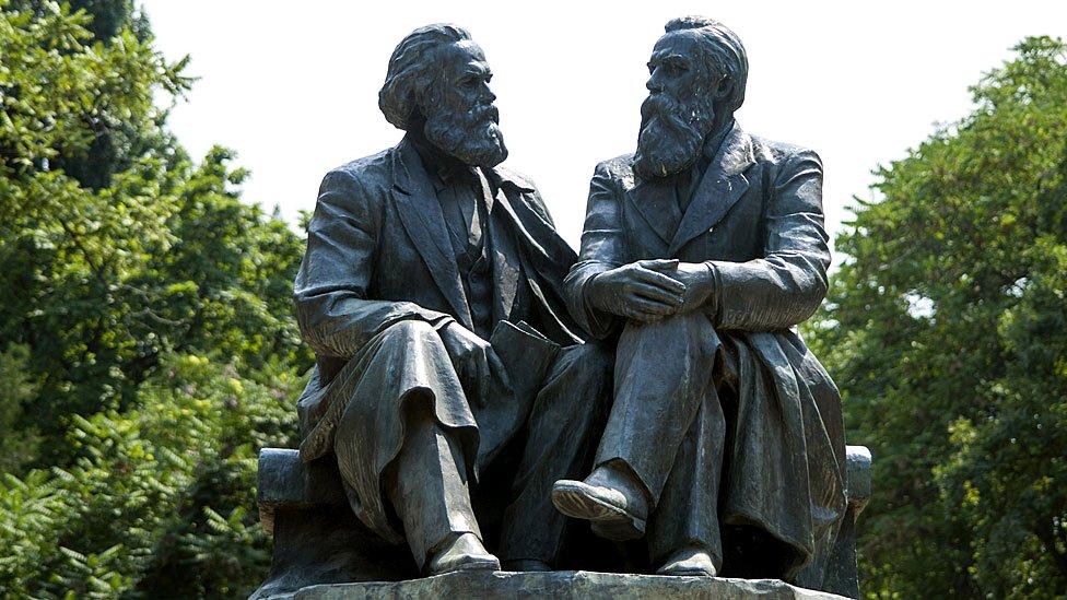 Karl Marx y Friedrich Engels