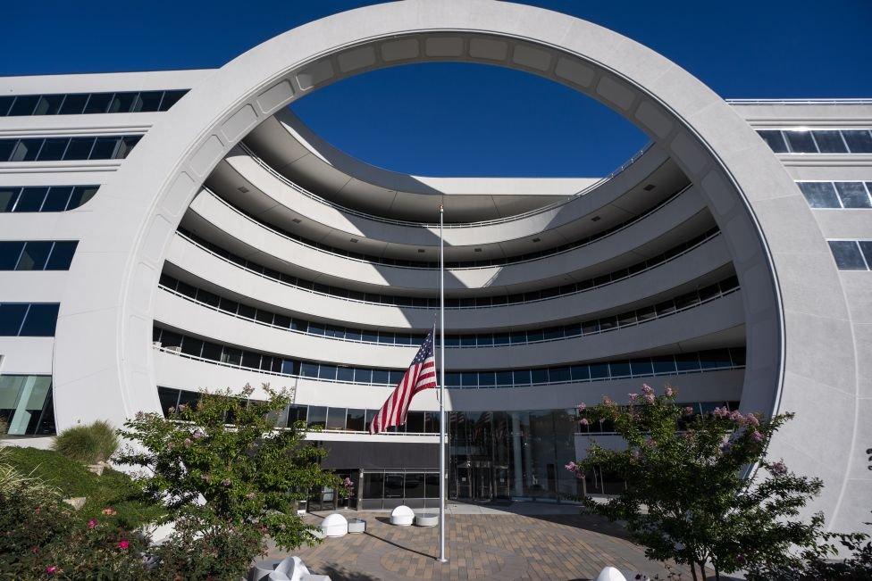مقر مكتب تعقب الجرائم المالية التابع لوزارة المالية الأمريكية في فيينا بولاية فرجينيا.