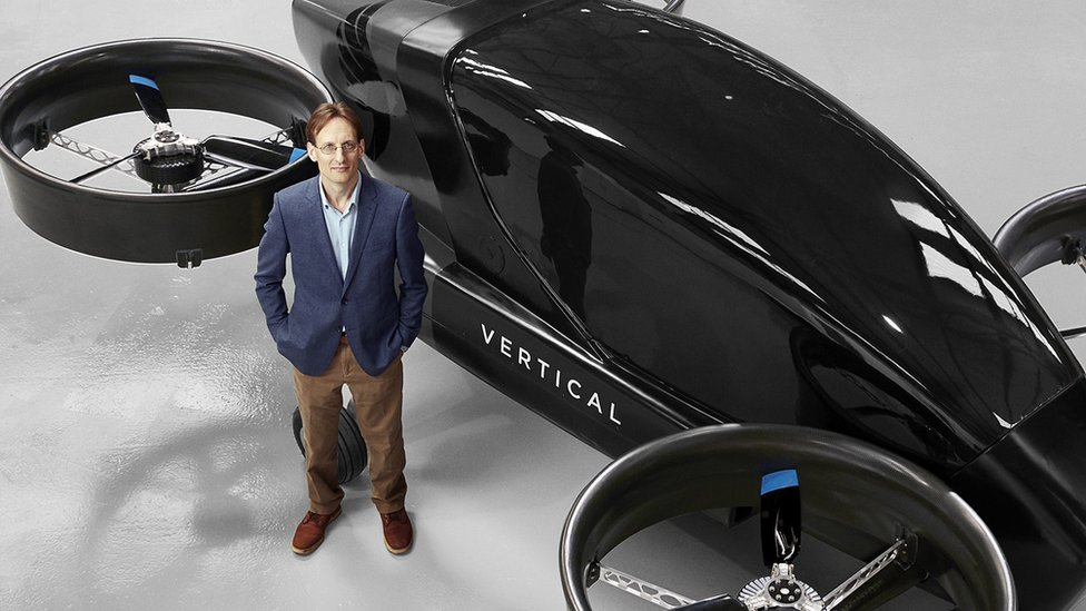 Michael Cervenka, chief executive, Vertical Aerospace