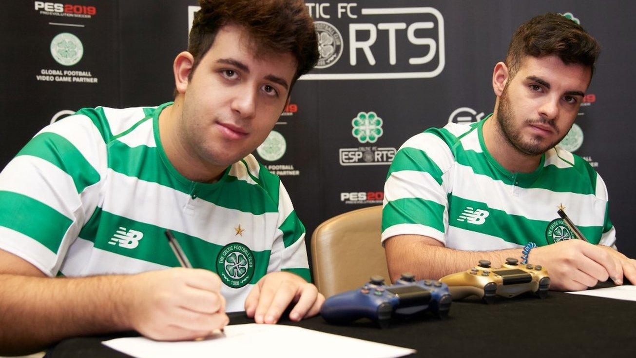 Celtic sign Ettorito97 & ildistruttore-44... for esports team