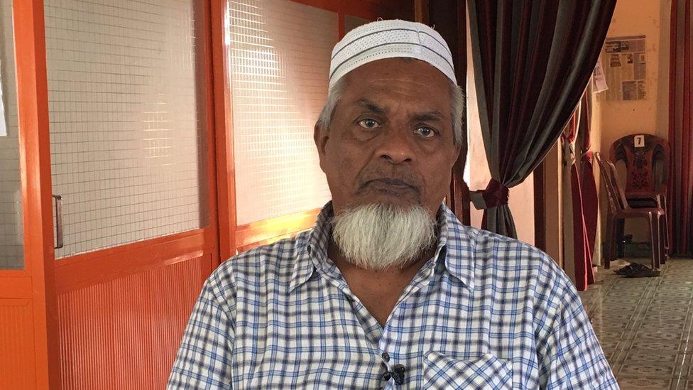 Mohammad Ibrahim Mohammad Zubair,President of Kattankudy Mosques Federation