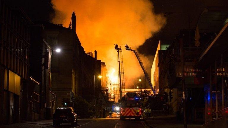 'I assumed the art school fire was a social media blip'