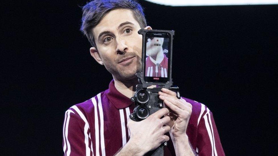 Un dispositivo de filmación de Quibi