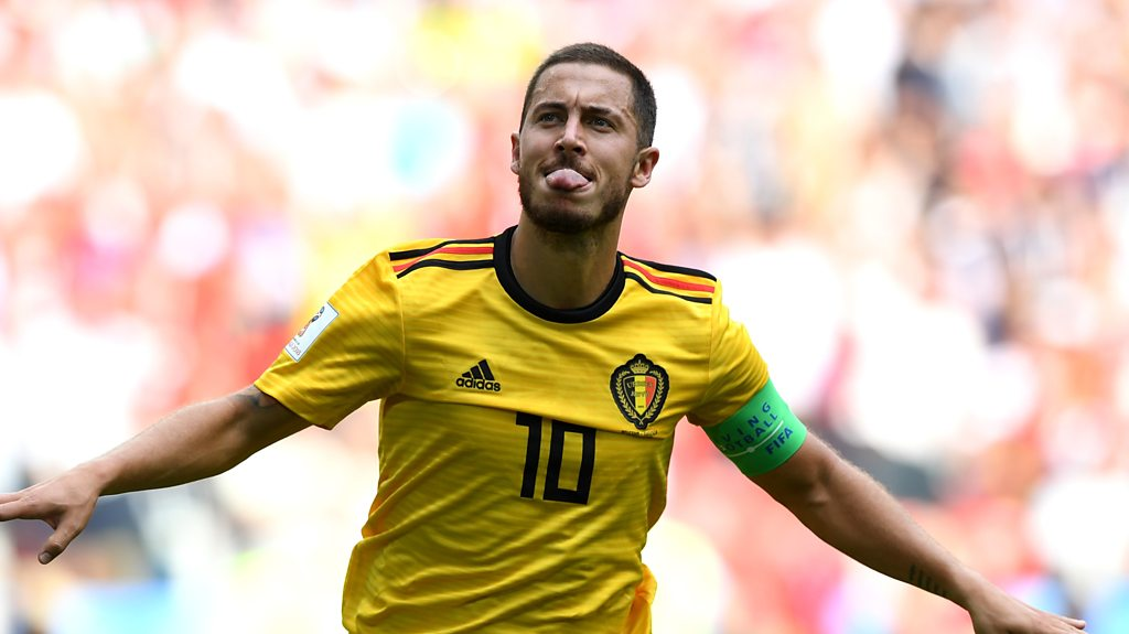 World Cup 2018: Eden Hazard scores Belgium's 'fantastic' fourth goal v Tunisia