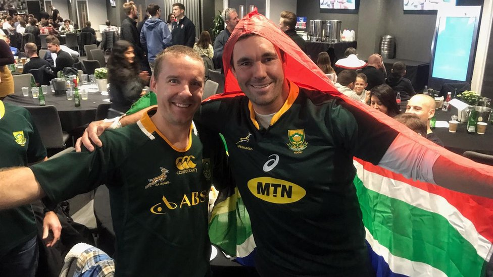 Sean Viljoen, 34, left and Mark Tonetti, 36