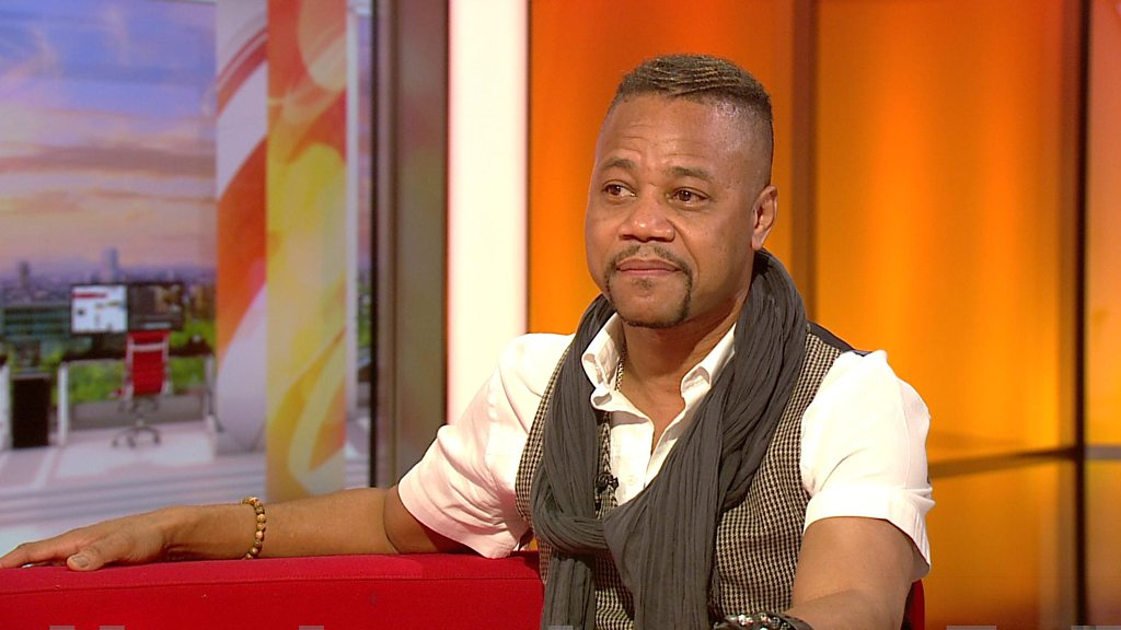 'It's a Cuba Gooding sandwich'