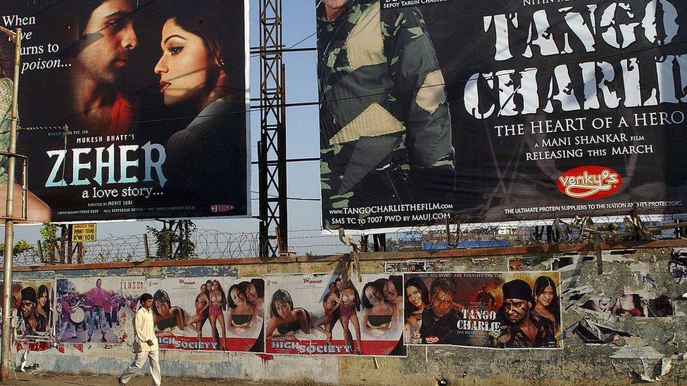 Posteri ffilm yn India
