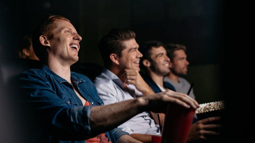 jóvenes en el cine