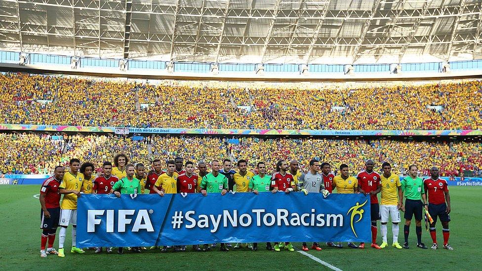 Partdio Colombia vs. Brasil