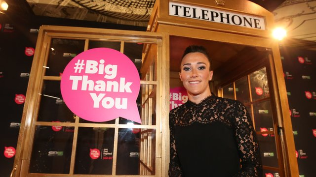 """Sport stars gather to say """"a big thank you"""" to sporting volunteers"""