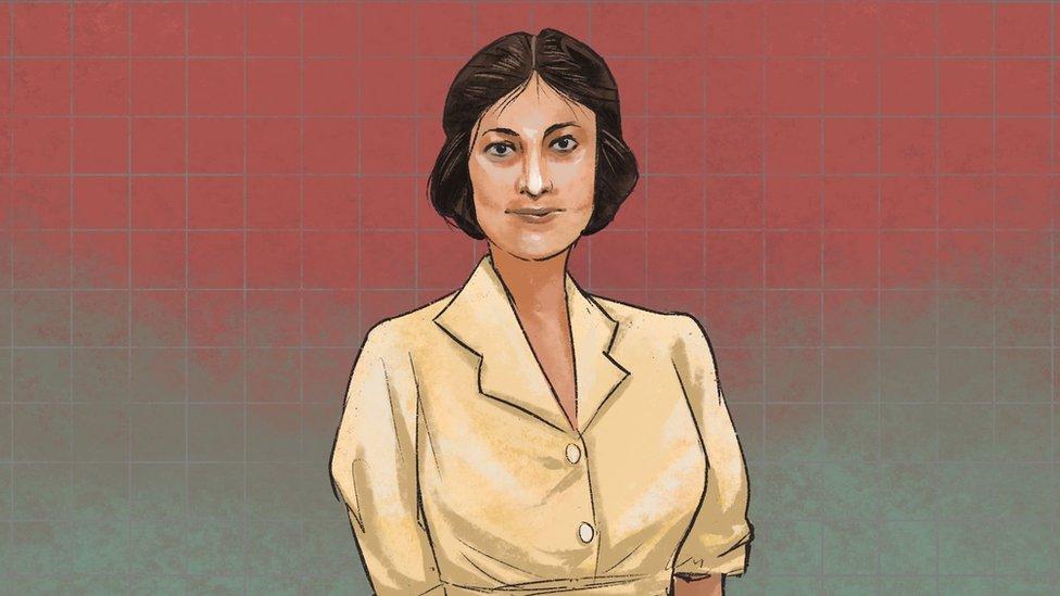 An illustration of Noor Inayat Khan