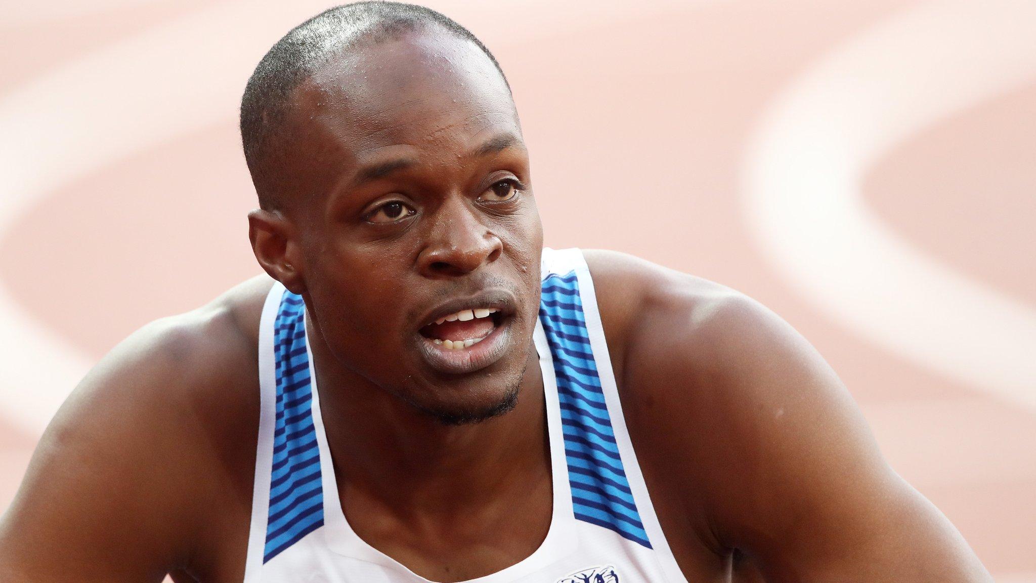 James Dasaolu: British public saved my career, says Olympic sprinter