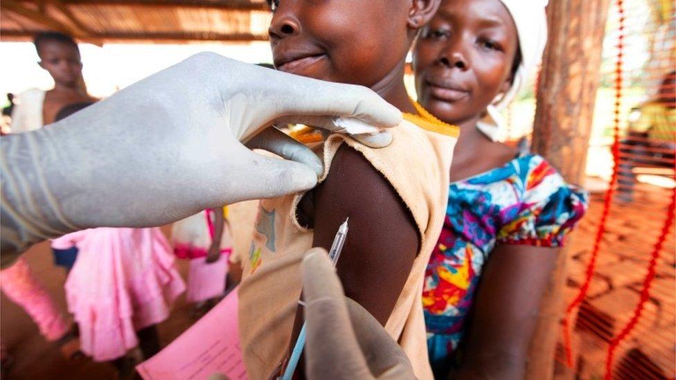 تم تطعيم ملايين الأطفال خلال مكافحة تفشي مرض الحصبة في جمهورية الكونغو الديمقراطية