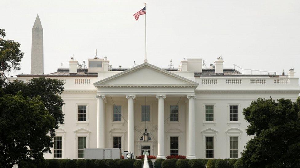 Flag at White House flying full-staff