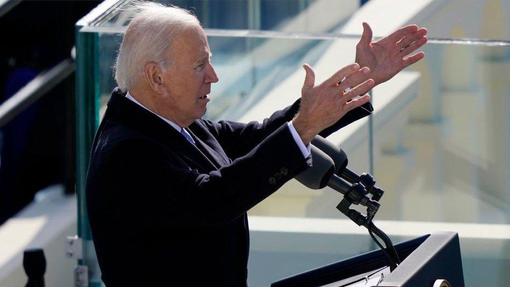 Инаугурация Байдена: 46-й президент США принял присягу
