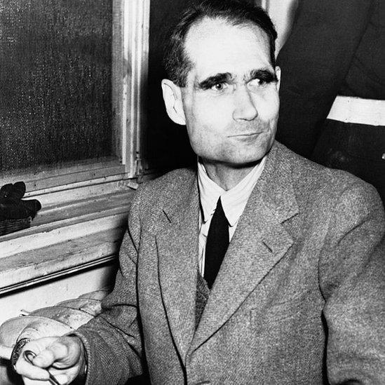 Rudolf Hess en prisión