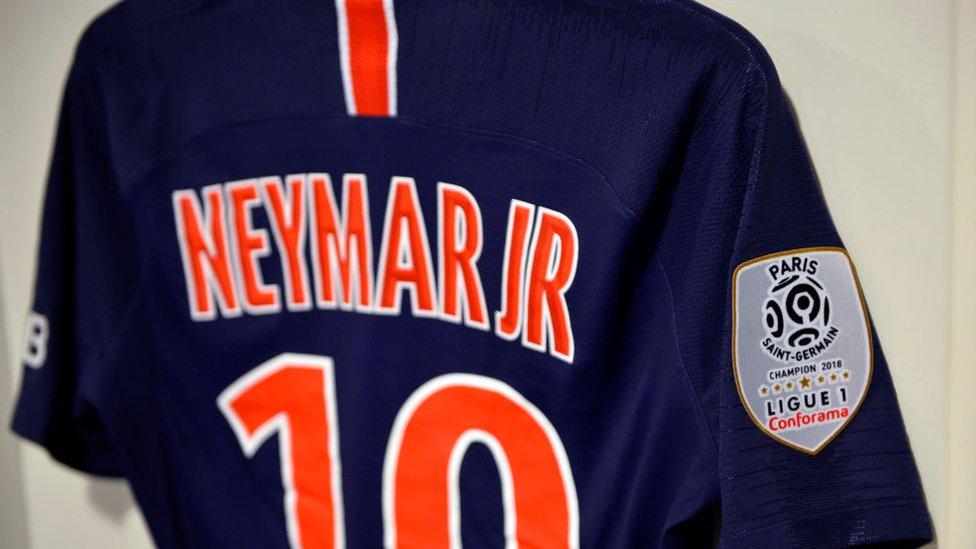 Camiseta de Neymar