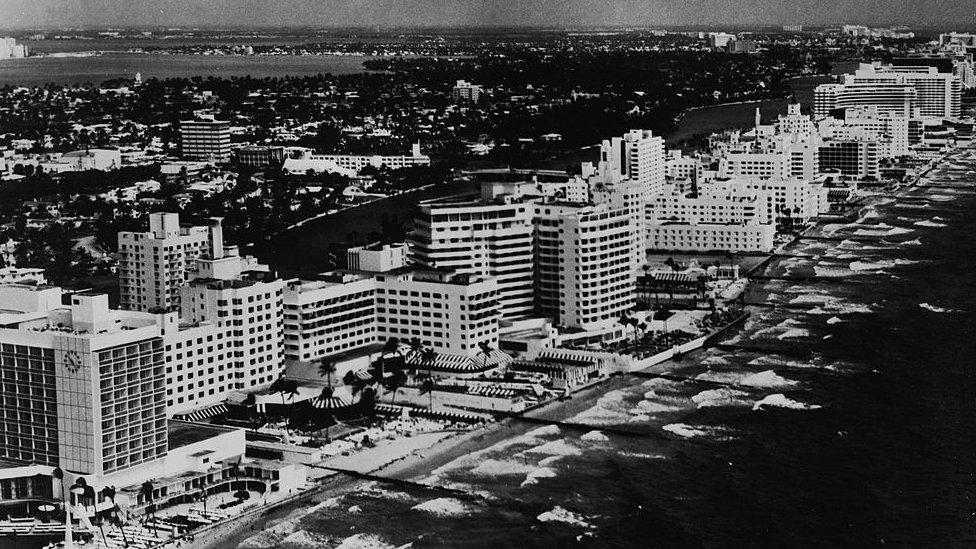 Miami en los años 60.