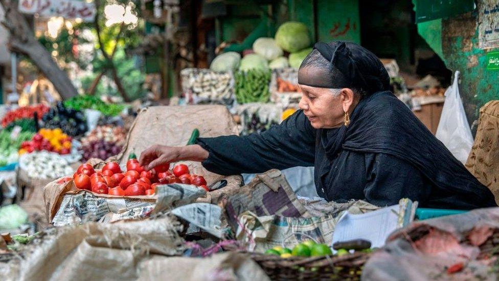يشكو المصريون من ارتفاع كبير في أسعار المواد الغذائية خلال الفترة الأخيرة