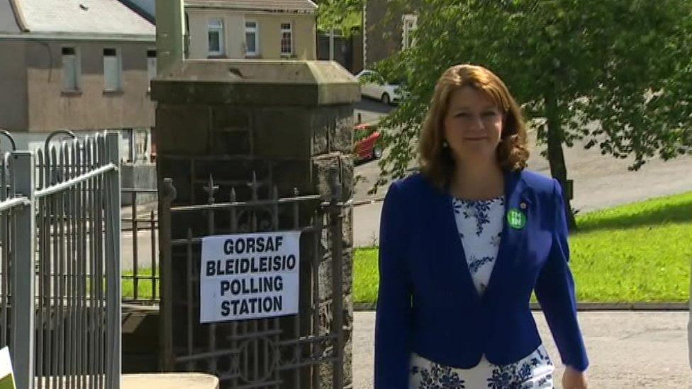 Plaid Cymru leader Leanne Wood has campaigned for Remain