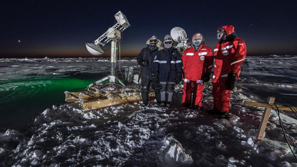 Višnu je na Arktiku i u antarktičkim regijama boravio petnaestak puta