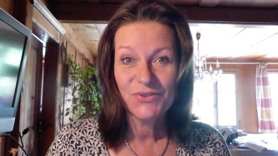 Alison Chabloz in a YouTube video