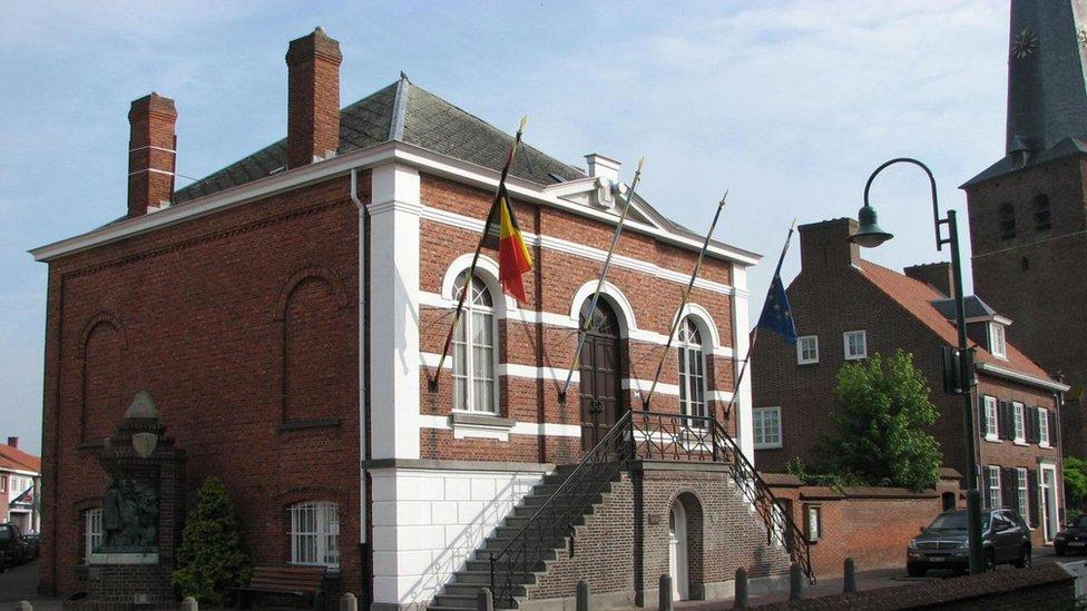 Ayuntamiento de Baarle.