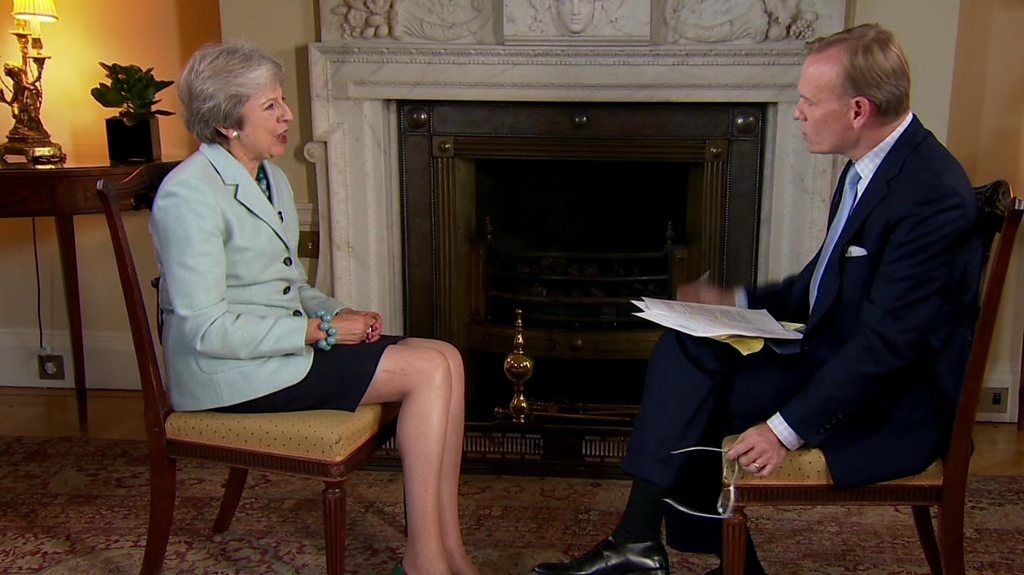 Does Theresa May trust Donald Trump?