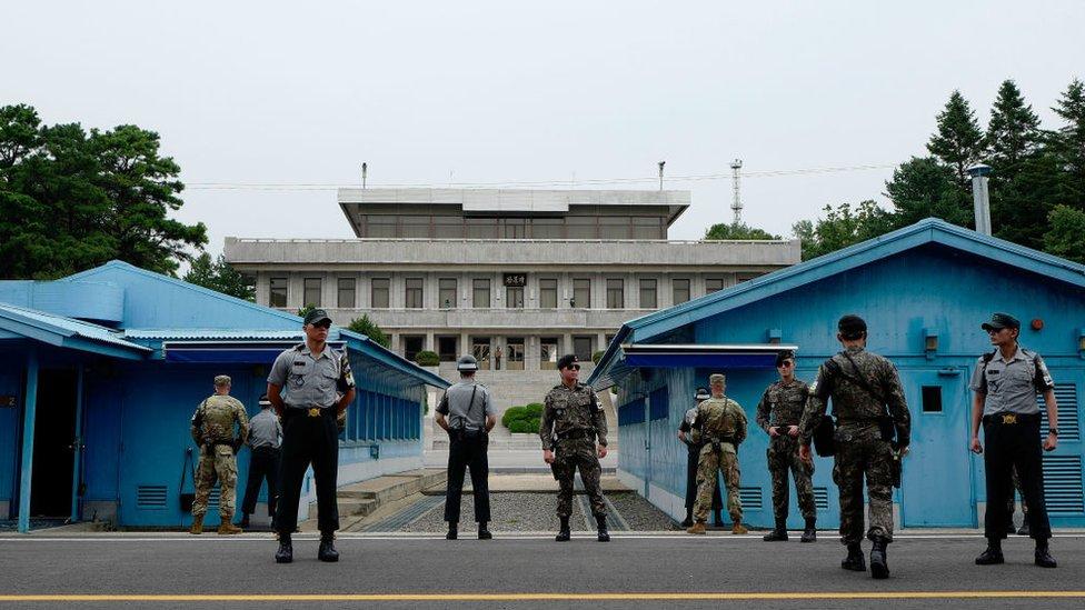 दुनिया की सबसे 'ख़तरनाक जगह', जहां दोनों कोरिया मिले