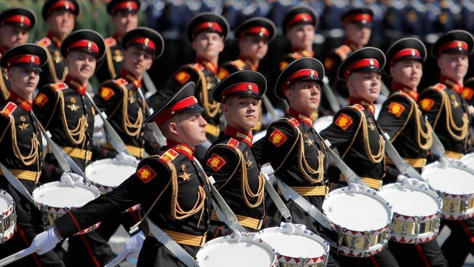 Desfile Plaza Roja de Moscú.