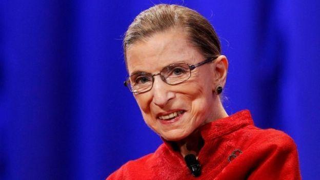 كانت روث بايدرغينسبورغ، المدافعة المتحمسة لحقوق المرأة، أكبر قاضية في المحكمة العليا الأمريكية.