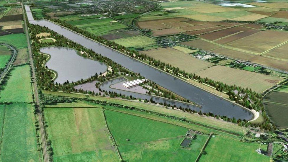 Trust withdraws Cambridge sport lakes plan