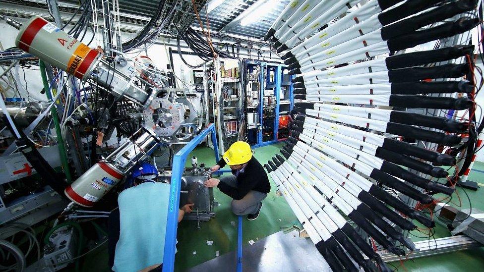Interior del CERN