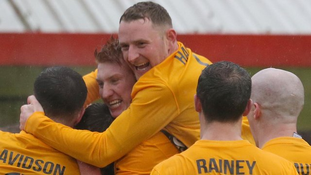 H&W Welders celebrated a penalty shoot-out win over Albert Foundry in the Steel and Sons Cup final
