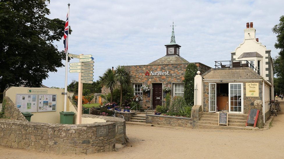 The centre of Sark