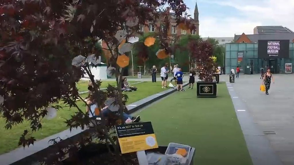 Manchester attack: 'Trees of Hope' trail for tributes