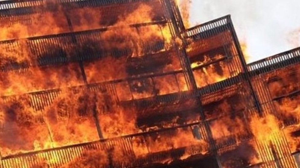 Barking fire: 'The whole thing was an inferno'
