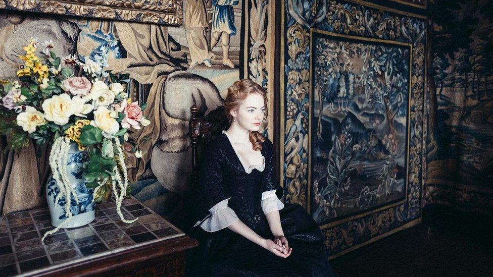 """Emma Stone interpreta a Abigail en """"La favorita"""""""