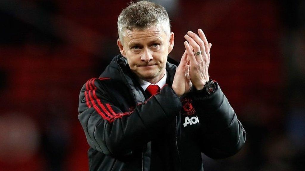 Man Utd 0-2 Man City: City are standard United have to get to - Solskjaer