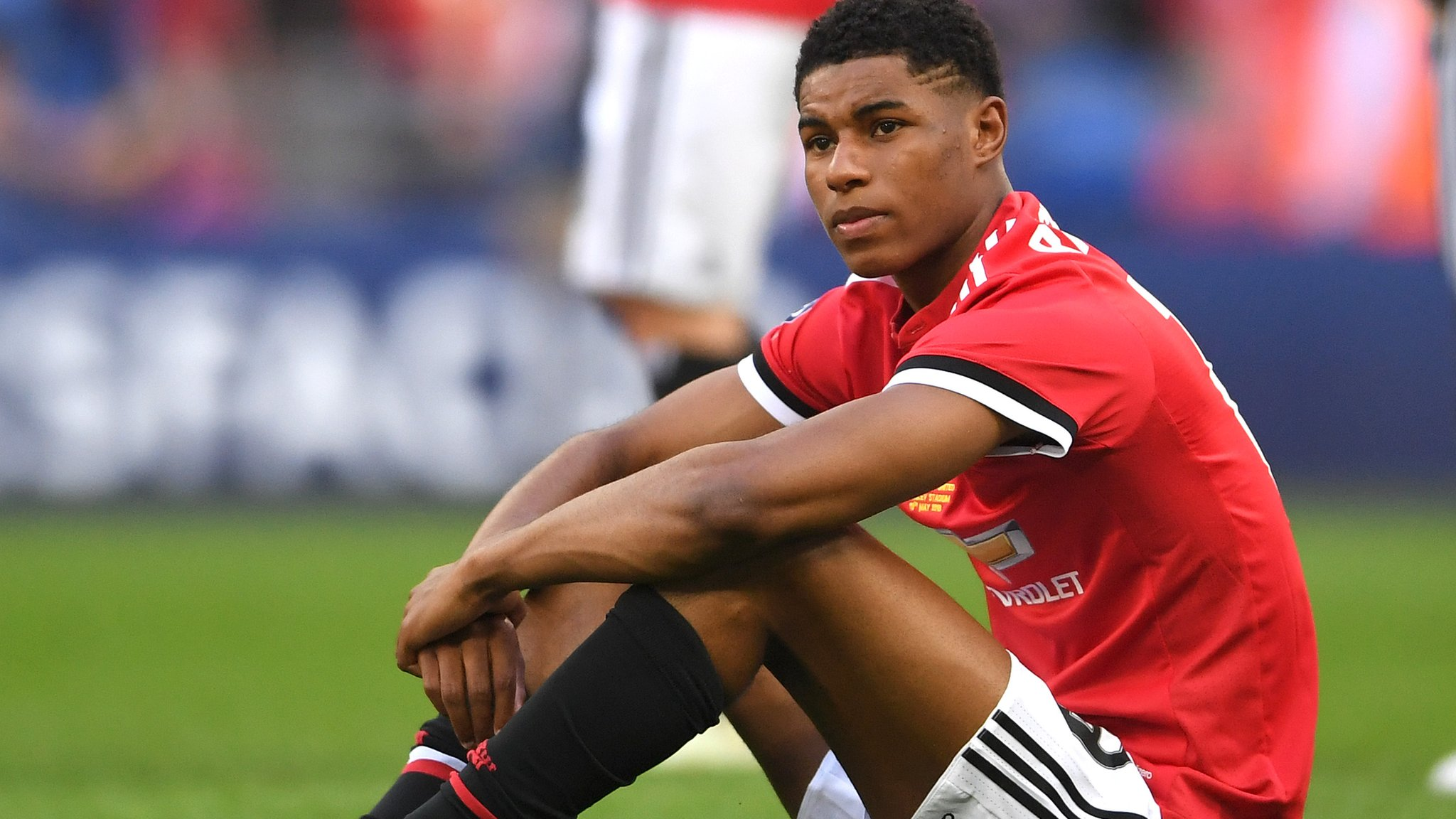 Rashford's tribute to Manchester bombing victims
